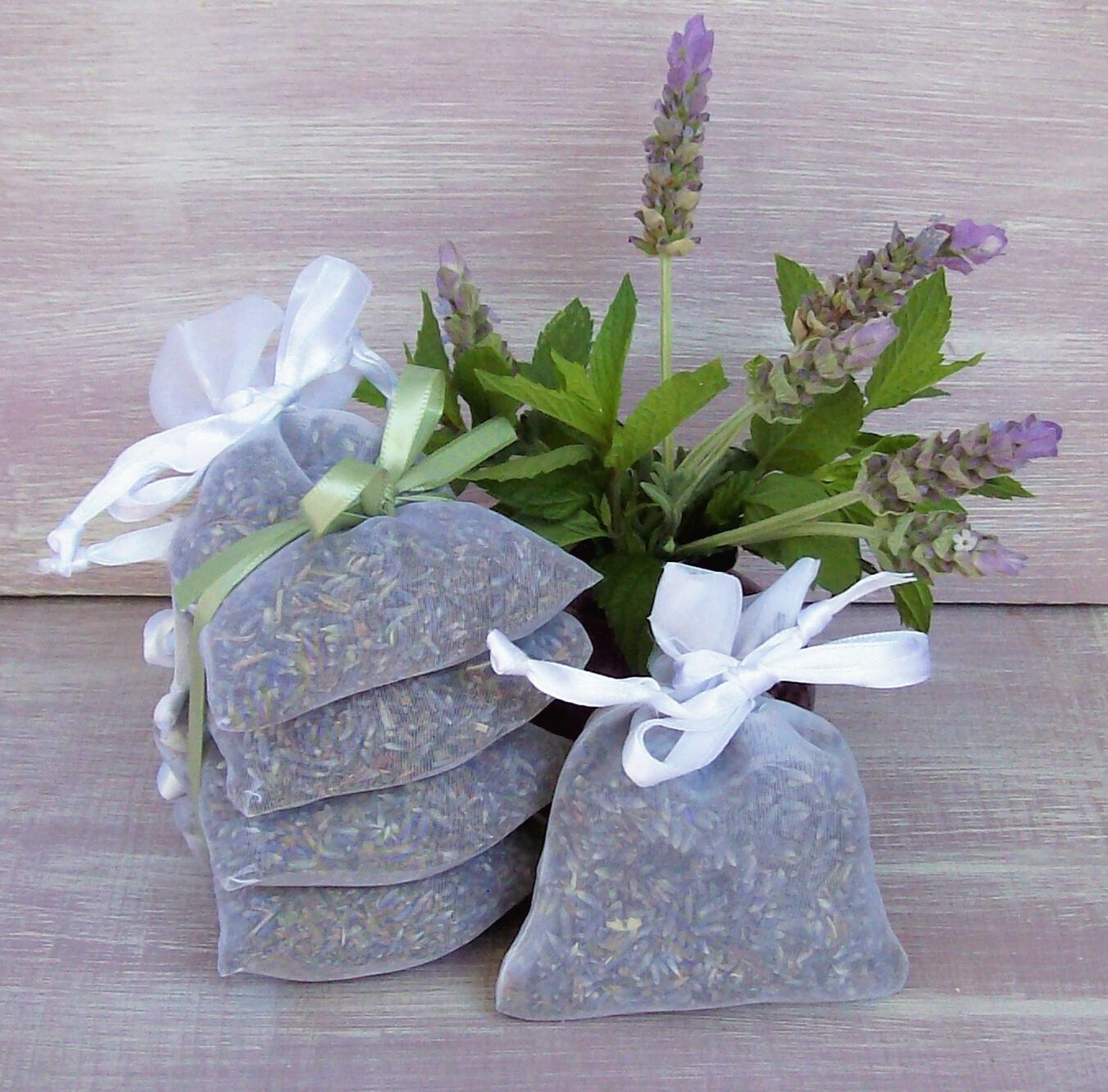 Lavender Sachet With Mint By Lavender Fanatic Lavender