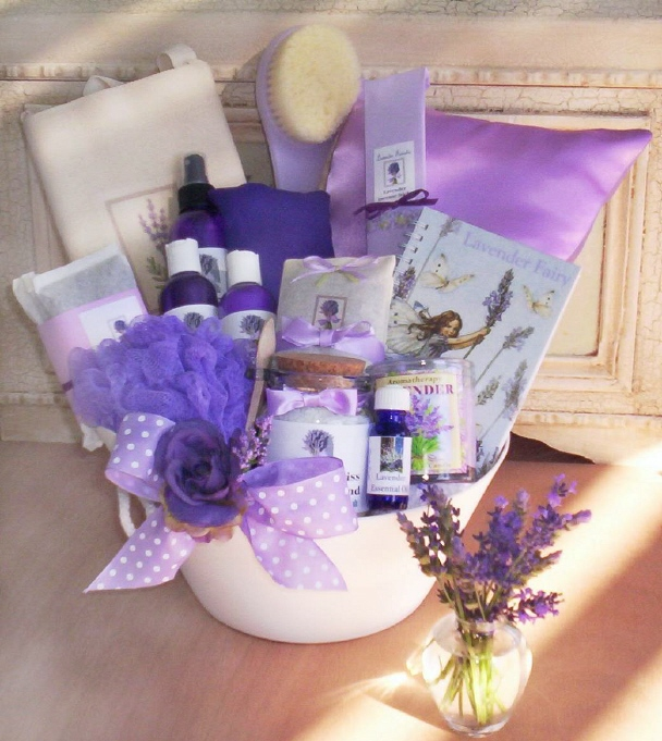 Lavender Gift Basket Quot Loaded Quot By Lavender Fanatic Gifts